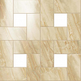 Керамогранит Atlas Concorde, S.M. elegant honey mosaic lap 610110000065 бежевый, 450*450